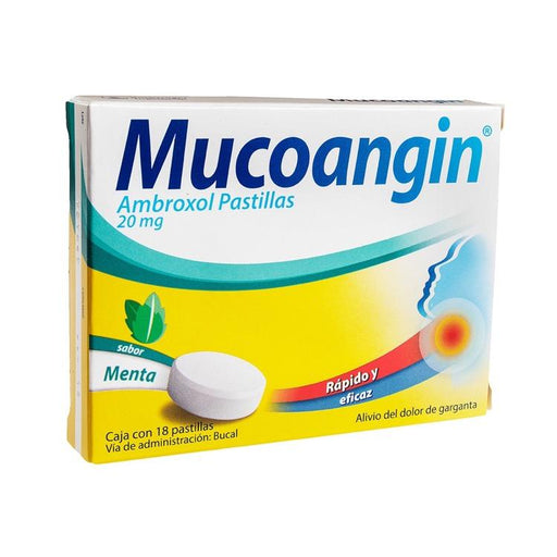MUCOANGIN MENTA 20MG PAST C18