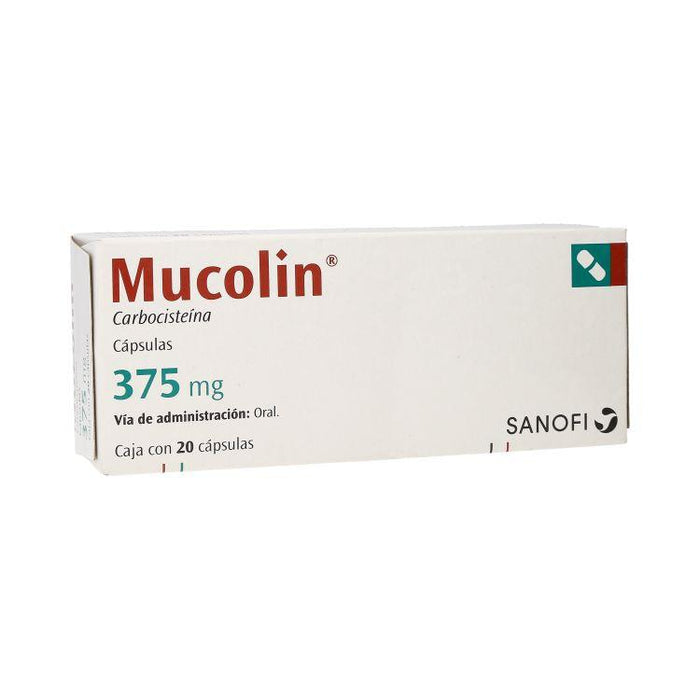 MUCOLIN 375MG CAP C20