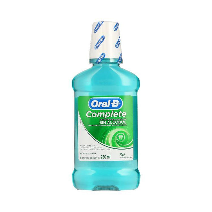 ORAL B COMPL ENJBUC HRBA 250ML
