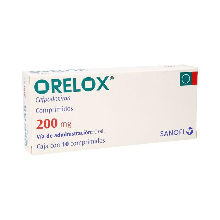 ORELOX 200MG CPR C10