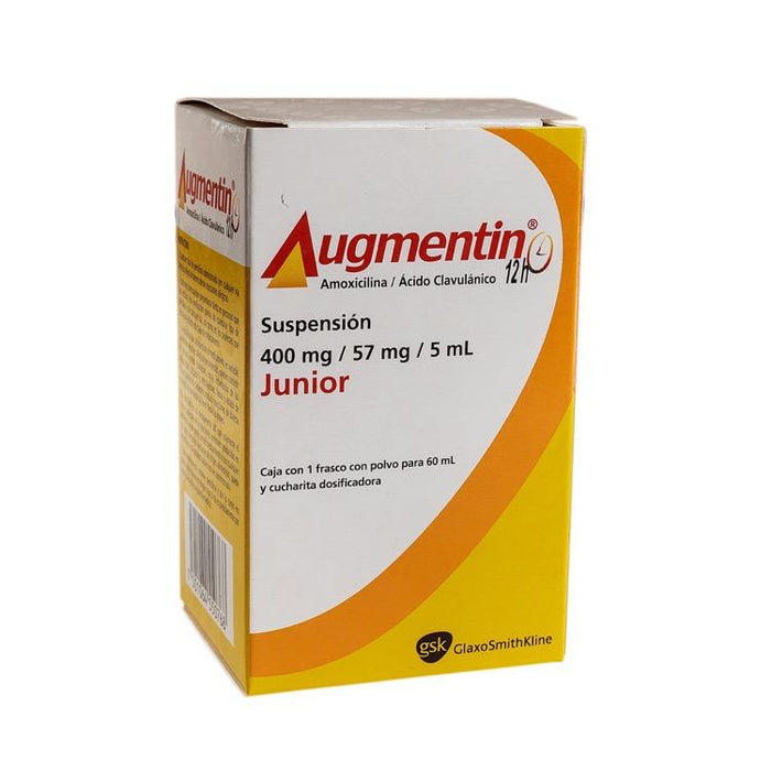 AUGMENTIN 12H 400MG SUSP 60ML