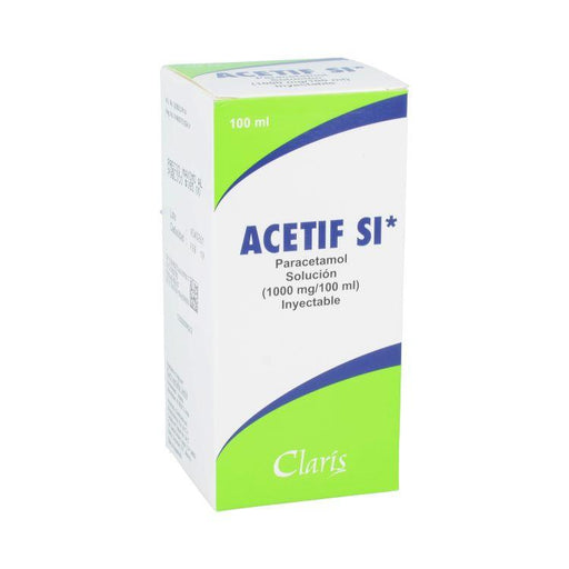 ACETIF SI 1000MG SOL INY 100ML