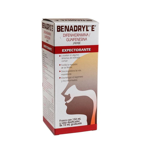 BENADRYL EXP JBE 150ML