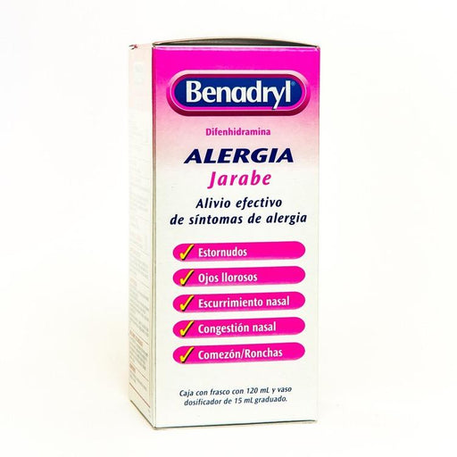 BENADRYL JBE 120ML