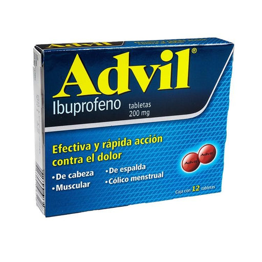 ADVIL 200MG GRAG C12