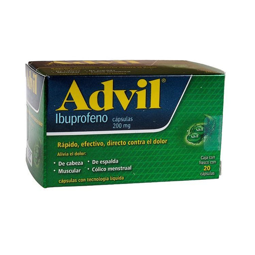 ADVIL FASTGEL 200MG CAP C20