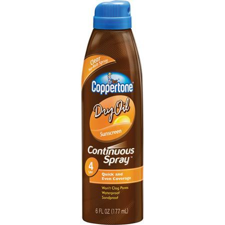 COPPERTONE DRY OIL SPRY