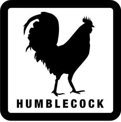 HC Rooster sticker 3x3 inches