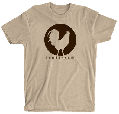 Eco T-Shirt (Cream w/ brown)