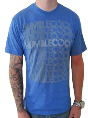The Takeover T-Shirt (Blue w/ Grey)