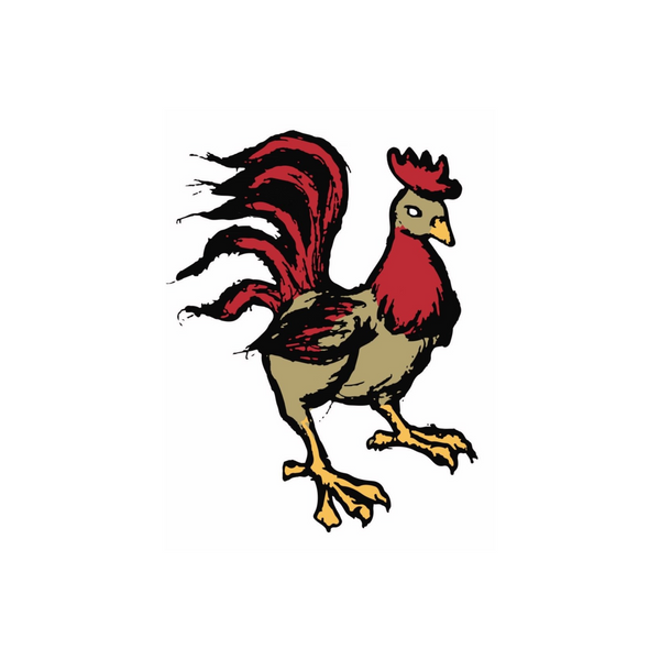 Humblecock Rooster Sticker