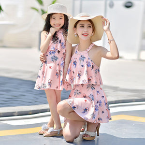 Mommy & Me Floral Dress - Hey Hippie