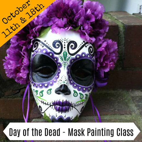 Day of the Dead - mask painting workshop