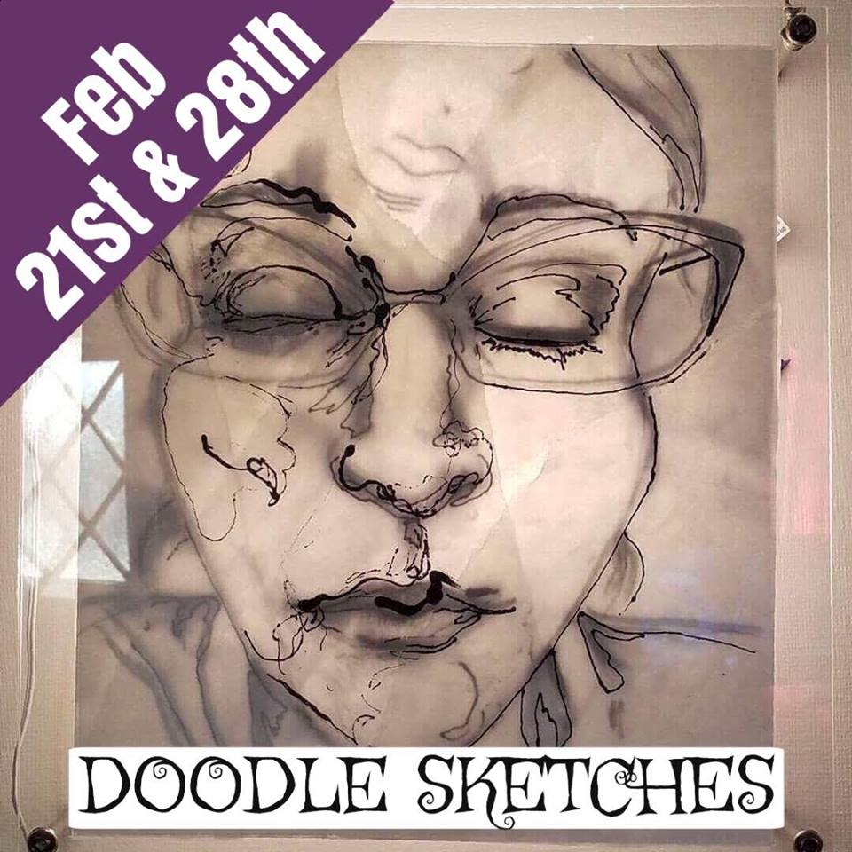 Doodle Sketch (2 week workshop series)
