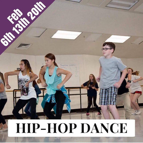 Hip Hop Dance Workshop (3 week series)