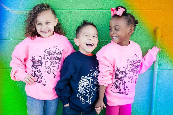 Kids His/Hers Graffiti Sweatshirt