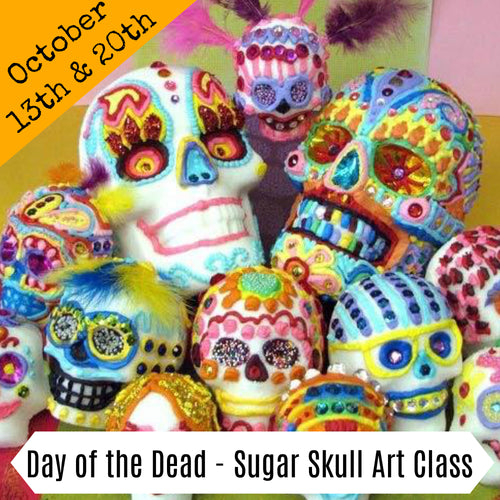 Day of the Dead - Sugar Skull Design Workshop