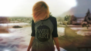 We Are The Art Baseball Tee