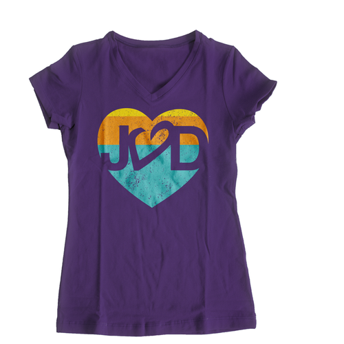 I Heart JVD Women's <br>V-neck