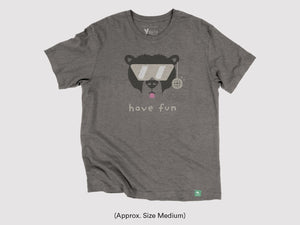 "Vintage ""Have Fun"" Short Sleeve Shirt"