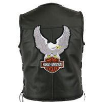 HARLEY DAVIDSON XL Eagle Upwing Embroidered Patch
