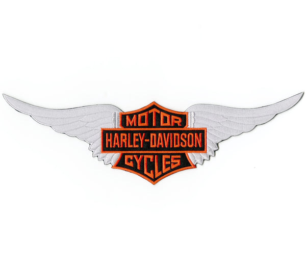 Harley Davidson Wings Embroidered Patch