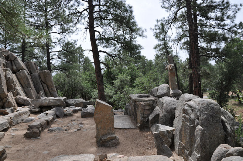 Chapel Rock Ceremony Area