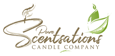 Pure Scentsations Candle Company Logo