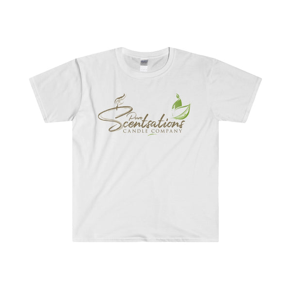 Pure Scentsations Candle Company Fitted Short Sleeve Tee White