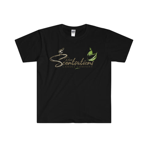 Pure Scentsations Candle Company Fitted Short Sleeve Tee Black