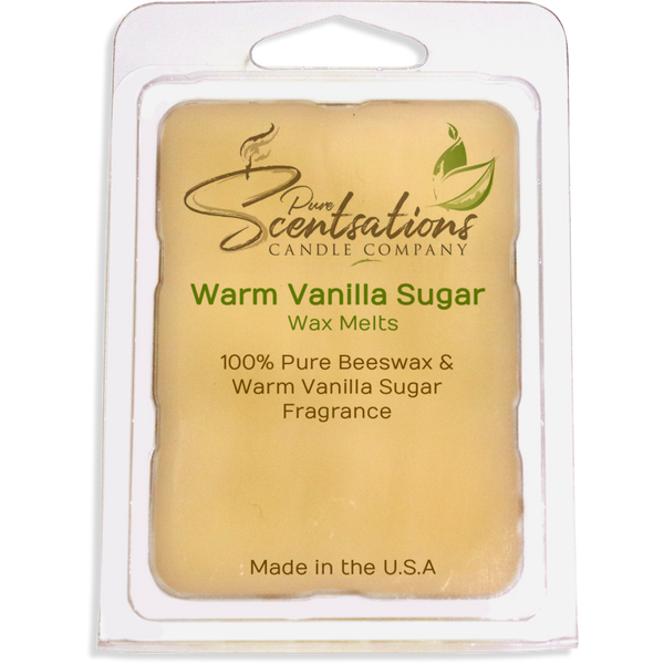 Warm Vanilla Sugar Wax Melts Beeswax All Natural
