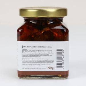 *NEW* Mrs So's Classic_Gan Fish Pickled
