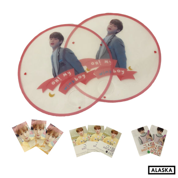 Park Jihoon Transparent Fan @jihunfan_