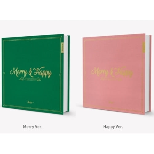 [PRE ORDER] TWICE 1st ALBUM REPACKAGE - MERRY & HAPPY