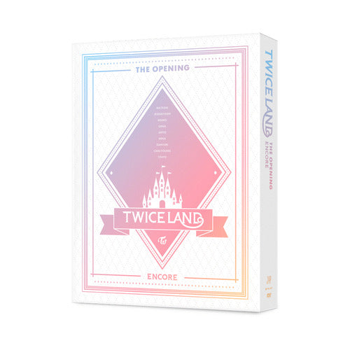 [PRE ORDER] TWICE 1ST TOUR TWICELAND - THE OPENING [ENCORE] (DVD / BLU-RAY)