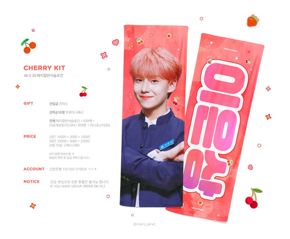 [CLOSE PO] Eunsang Cheering Kit