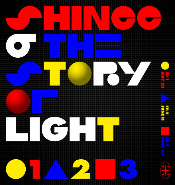 [PRE ORDER] SHINee 6th ALBUM - The Story of Light EP.3
