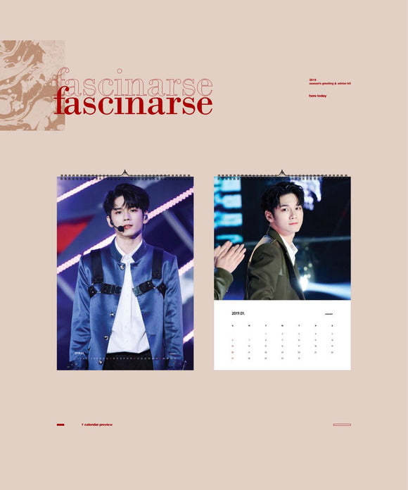 [PO CLOSED] Seongwu 2019 Season's Greeting & Winter Kit