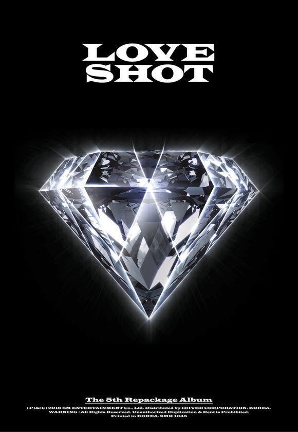 [PRE ORDER] EXO 5TH REPACKAGE ALBUM - LOVE SHOT
