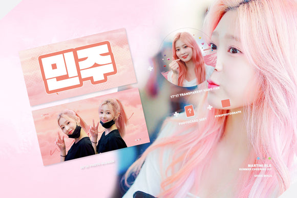 [PO CLOSED] Minjoo Japan Cheering Kit by @martini_blu