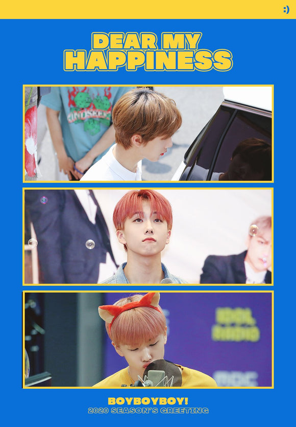 [PRE ORDER] Jisung 2020 Season's Greeting by @boyboyboy_js