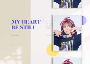 "[PRE ORDER] Sakura's Season Greeting ""MY HEART BE STILL"" by @39_kirschesaku"