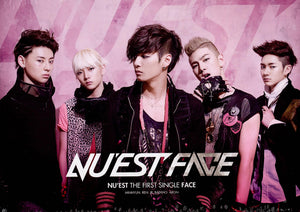 "[PRE ORDER]  NU'EST - 1st Single Album ""FACE"""