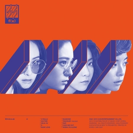 [PRE ORDER] f(x) 4th ALBUM - 4 WALLS