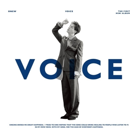 [PRE ORDER] SHINee ONEW 1ST MINI ALBUM - VOICE