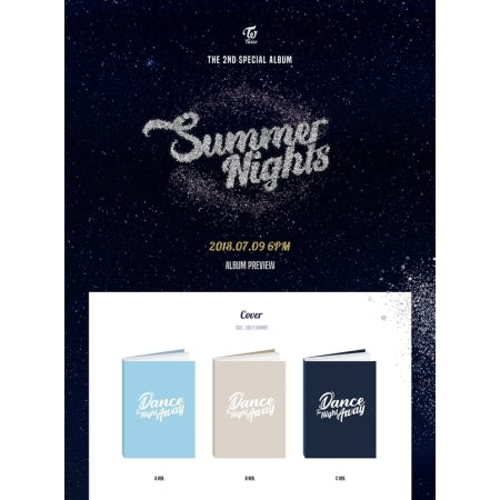 [PRE ORDER] TWICE 2ND SPECIAL ALBUM - SUMMER NIGHTS