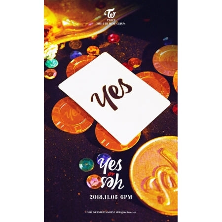 [PRE ORDER] TWICE 6TH MINI ALBUM - YES OR YES