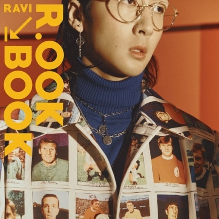 [PRE ORDER] RAVI 2ND MINI ALBUM - R.OOK BOOK