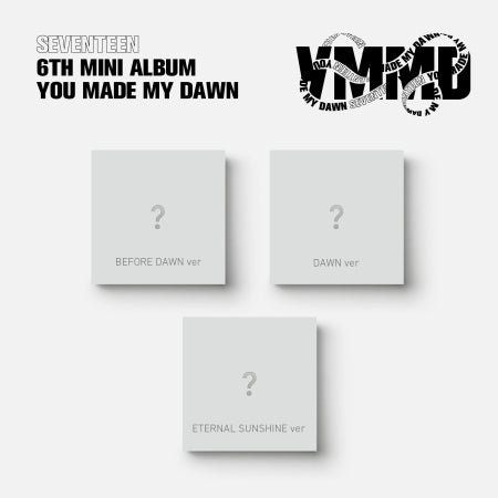 [PRE ORDER] SEVENTEEN 6TH MINI ALBUM - YOU MADE MY DAWN <REGULAR Ver.>