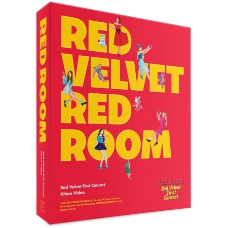 [PRE ORDER] RED VELVET 1ST CONCERT KIHNO VIDEO - RED ROOM